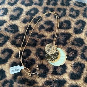 torrid Jewelry - Torrid Filigree Disk Gold Necklace NWT